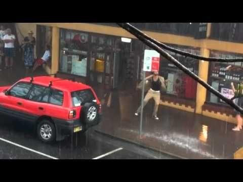 Tommy Franklin dancin in the rain