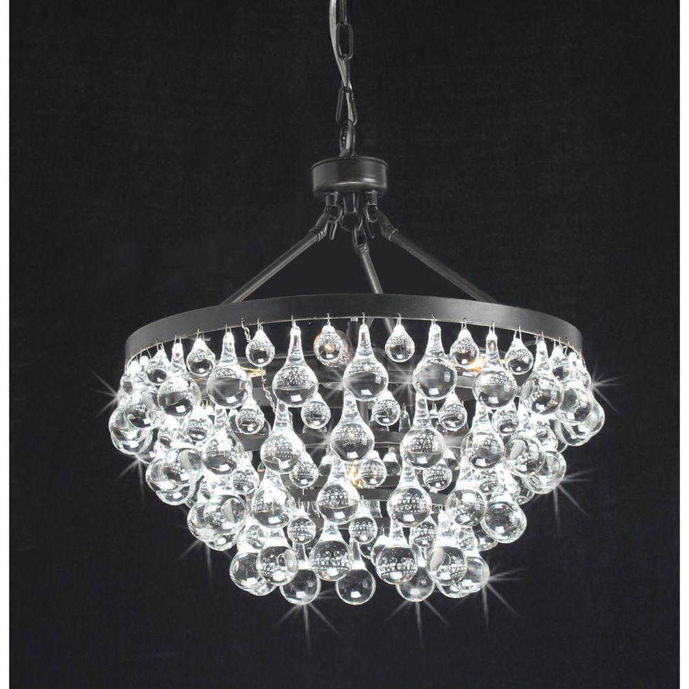 Antique copper 5 light crystal drop chandelier overstock antique copper 5 light crystal drop chandelier overstock shopping great deals aloadofball Gallery