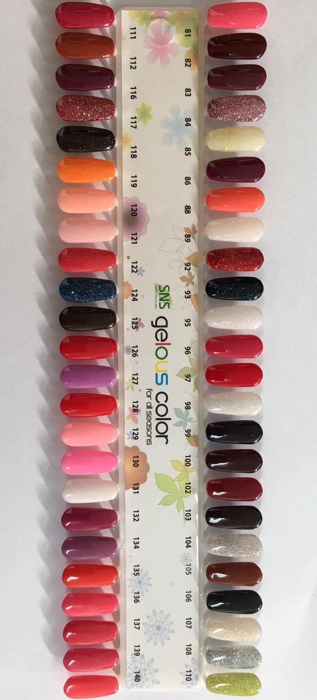 Pin von K Holthouse auf SNS colors | Pinterest