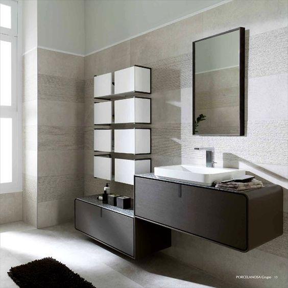 Idea mueble para ba o porcelanosa abades pinterest - Porcelanosa banos pequenos ...