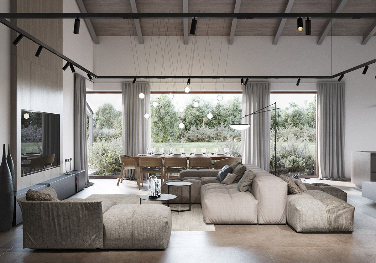 Modern Rustic Interiors Contemporary Country House Charm Studio