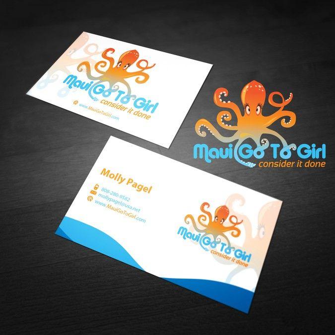 Freelance create a winning design for maui go to girl by va studio business cards freelance create a winning design for maui go to girl by va studio colourmoves