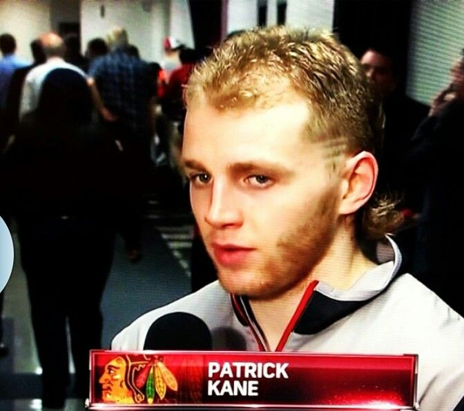 How Can You Not Love Him Patrick Kane Rocking The Greatest Mullet Ever Patrick Kane Mullet Patrick Kane Patrick Kane Girlfriend