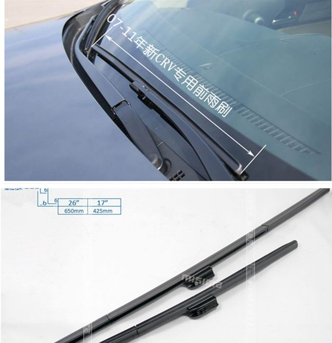 High Quality Rubber Windscreen Wipers Windshield Wiper Blade For Honda Crv Cr V 2007 2008 2009 2010 2011 2012 2013 201 Honda Crv Windscreen Wipers Wiper Blades