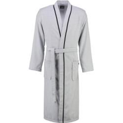 Photo of Cawö bathrobe men kimono denim 5707 graphite – 76 – M Cawö
