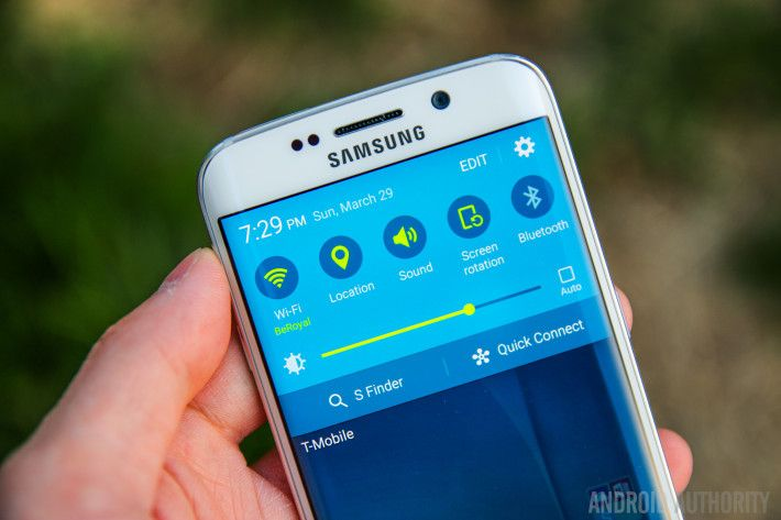 Here's a temporary fix for the missing quick toggles on your Samsung Galaxy S6 or S6 Edge - https://www.aivanet.com/2015/06/heres-a-temporary-fix-for-the-missing-quick-toggles-on-your-samsung-galaxy-s6-or-s6-edge/