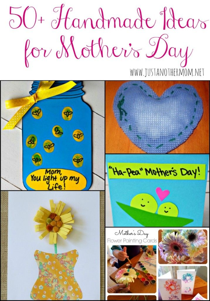 50 handmade gift ideas for mother 39 s day card ideas for Mothers day cards from preschoolers