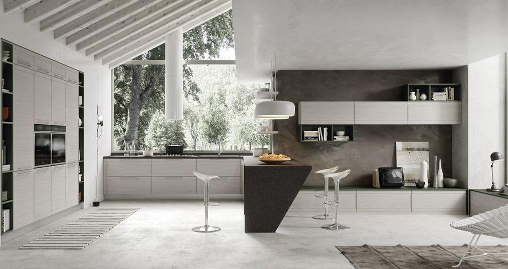 Gallery of cucine ad angolo moderne con piano cottura o lavello ad ...