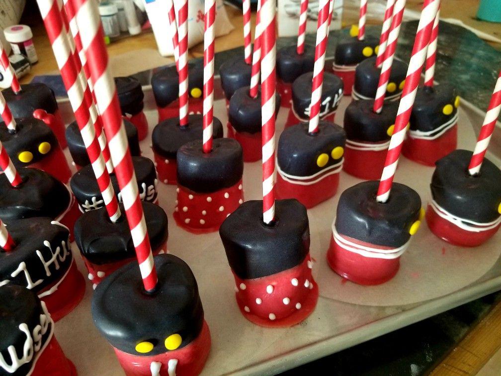 Jumbo marshmellows Mickey Themed
