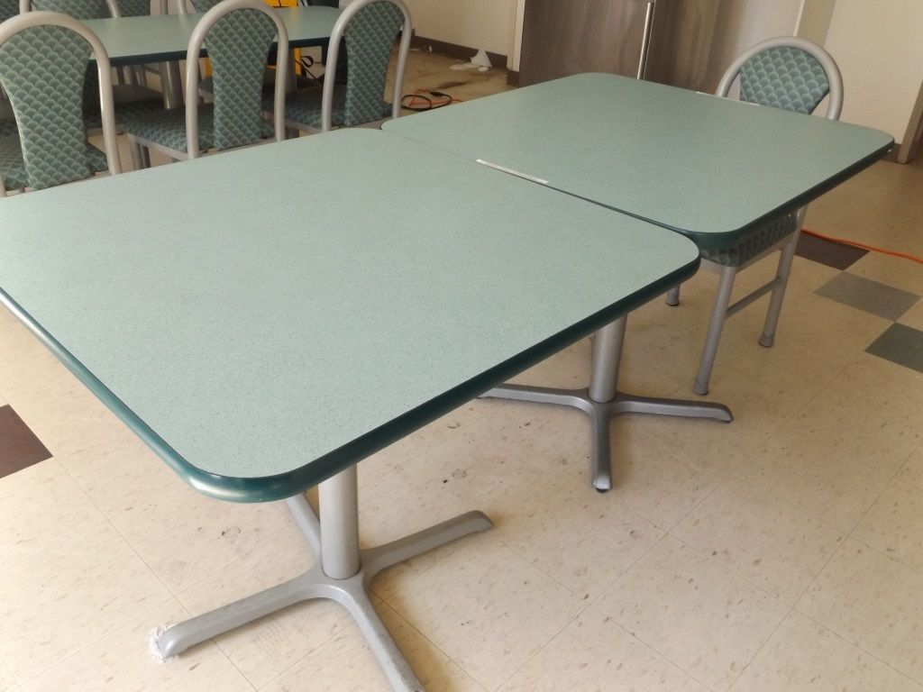 Two 2 Mts Cafeteria Table One Chair Cafeteria Table Table Cafeteria