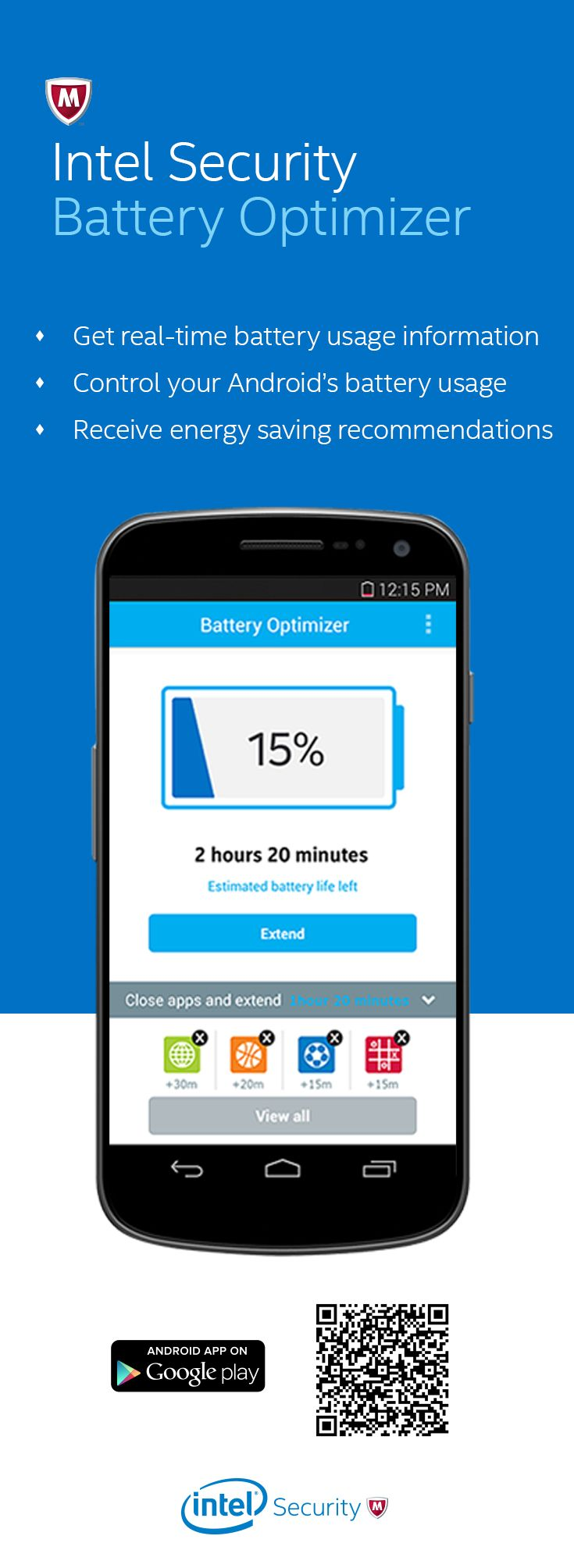 With Intel Security Battery Optimizer, knowing how much