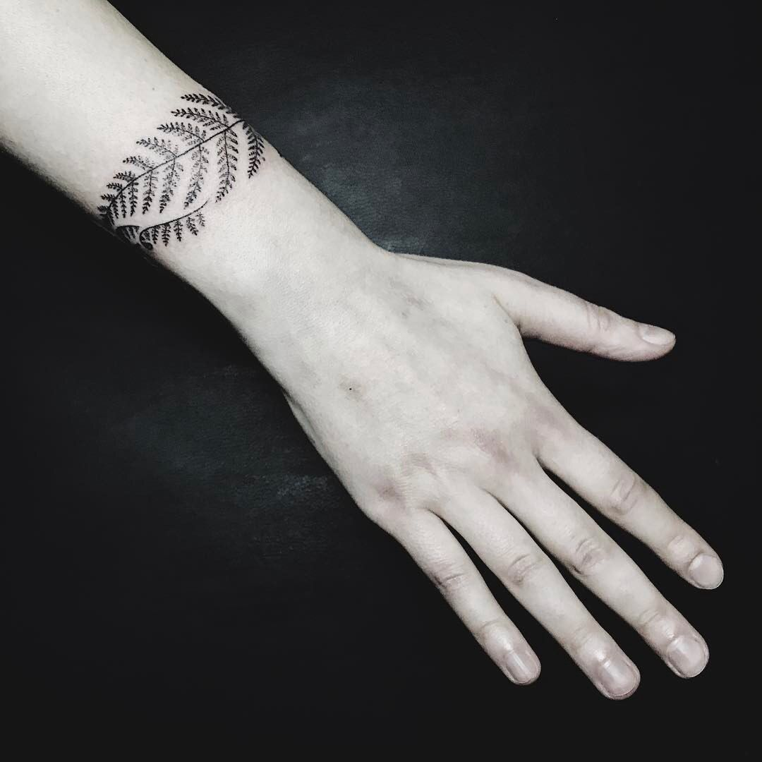 тату папоротник браслет идеи для татуировок браслет тату и