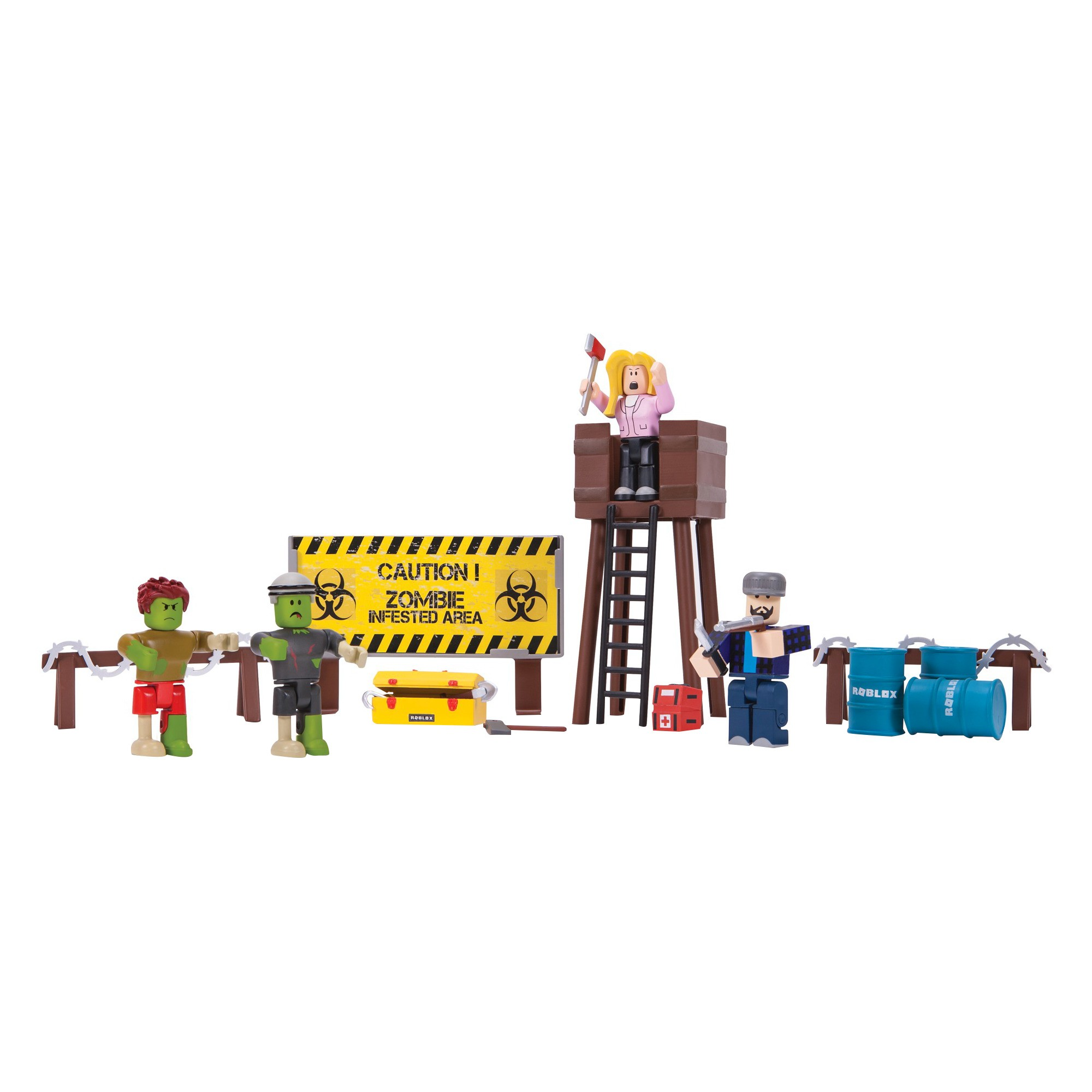 Roblox Zombie Attack Playset | Zombie attack and Products