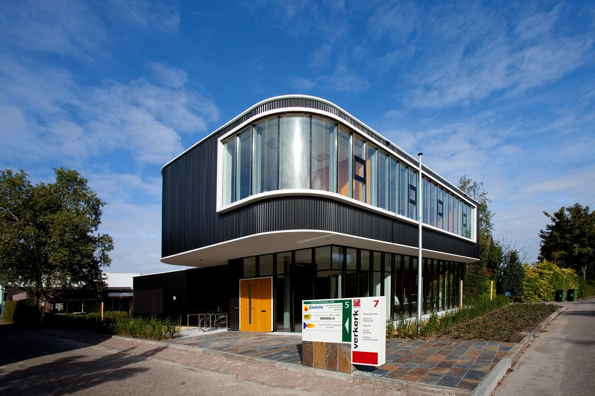 Modern small office building design check out mountain for Modern business buildings