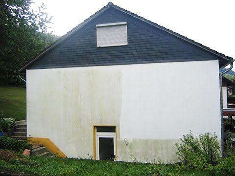 Mit Der Dammung Kommen Die Algen Fassade Reinigen Hausfassade Und Wdvs