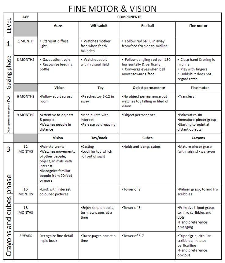 Fine motor developmental milestones chart dr iman for Gross motor skills milestones