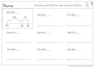 rechnen am rechenstrich lernst bchen mathe 2 klasse. Black Bedroom Furniture Sets. Home Design Ideas