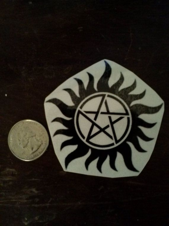 Supernatural Anti-Posession Temporary Tattoo by theRageCrafts