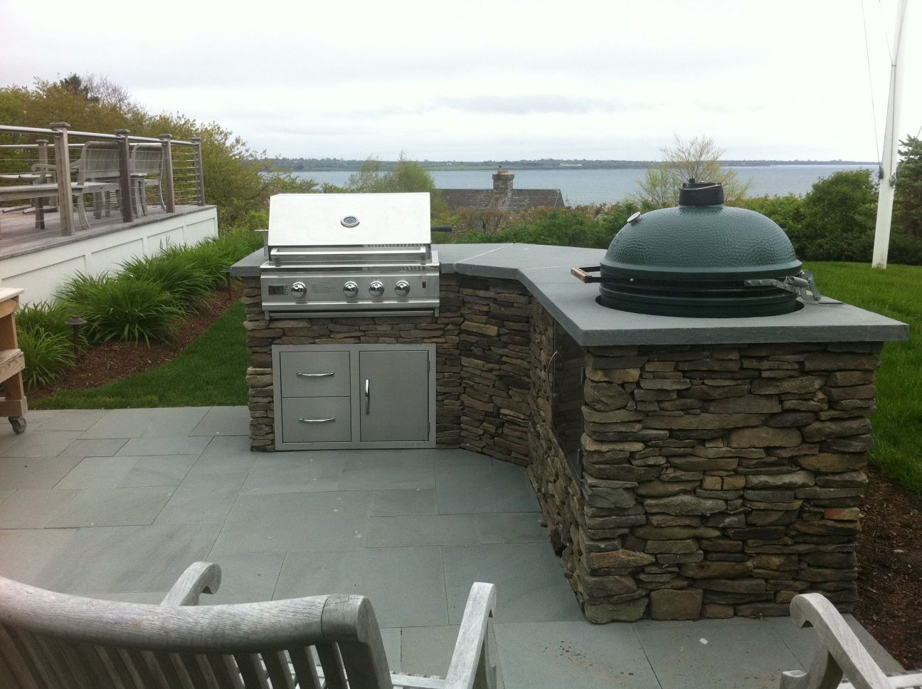 Uncategorized Green Egg Island Amazing Outdoor Kitchen Plans The For Style And Xl Concept