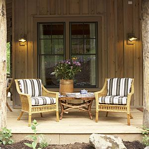 Rustic and sweet  #countryliving and #dreamporch
