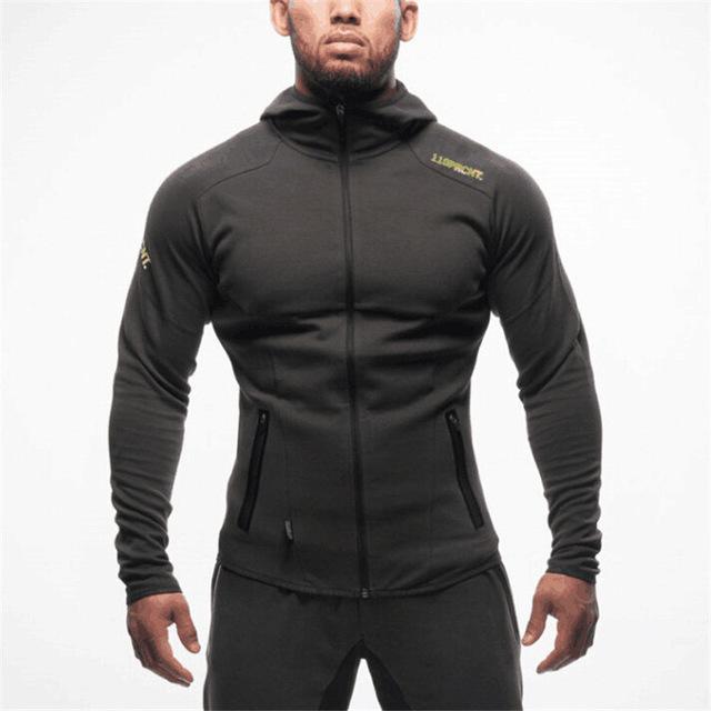 Men Camouflage Tracksuit Zip Hoodie Sweatshirt Jogging Camping Pants Sportswear