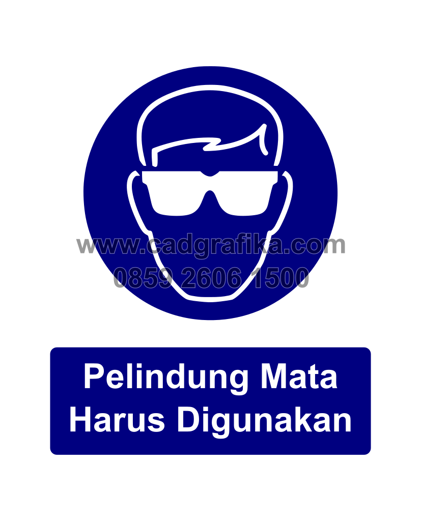 Sticker Rambu K3 Cad Grafika