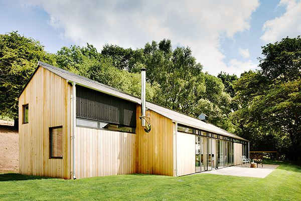 The Chickenshed Minimalist Holiday Home Home Smartsmallspaces