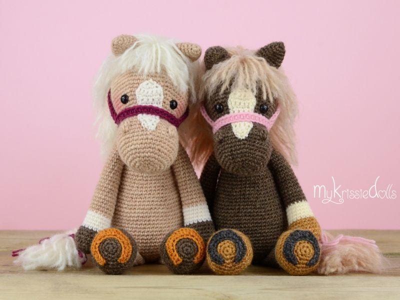 Pferdlein Piem Textil Häkeln Häkeln Muster Und Tiere Häkeln