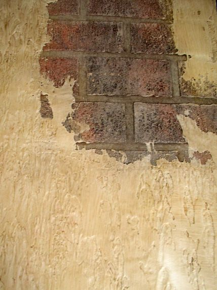 Image detail for -Old World Brick Wall with Hand rubbed Tuscan ...
