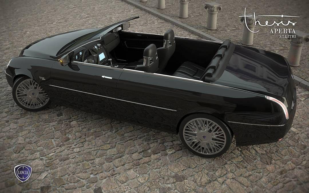Dream Cars: Lancia Thesis Aperta 5.7 Litri #renderingmydreams ...