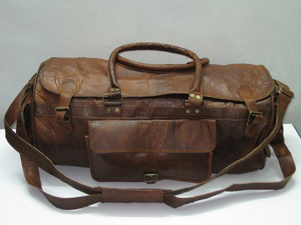 Mens Leather Overnight Bag | Men's Wear: Accessories | Pinterest ...