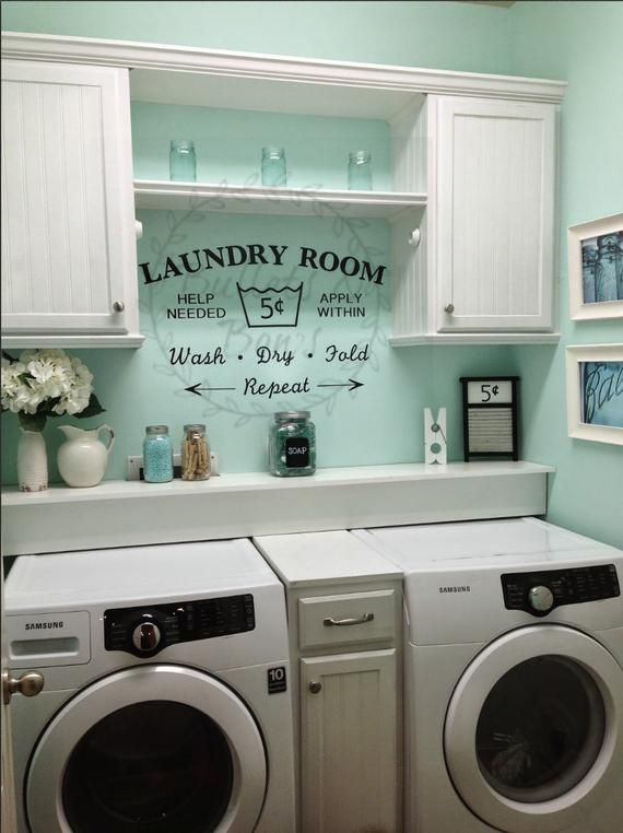 Photo of Laundry Room SVG