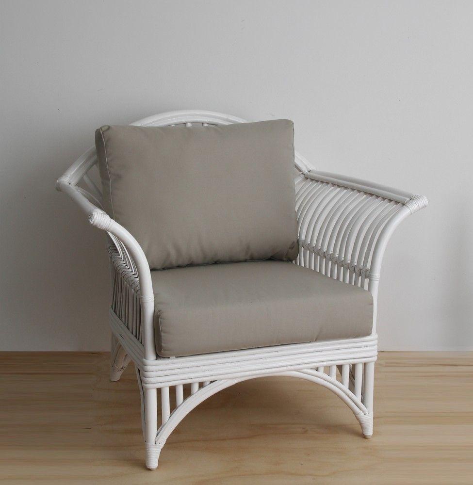 Queenslander armchair Naturallycane | Rattan and Wicker ...