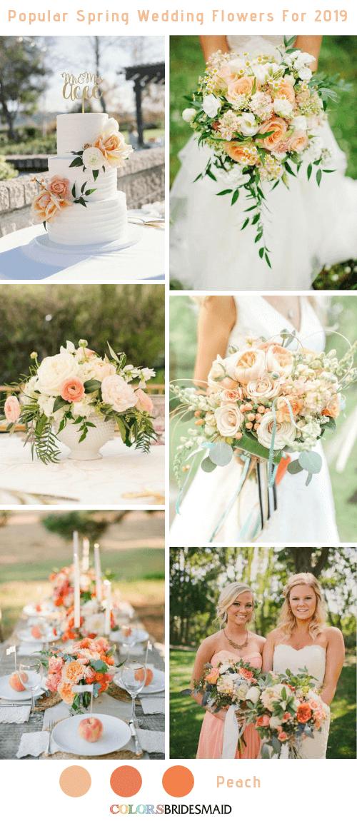 8 Popular Spring Wedding Flowers Color Ideas for 2019