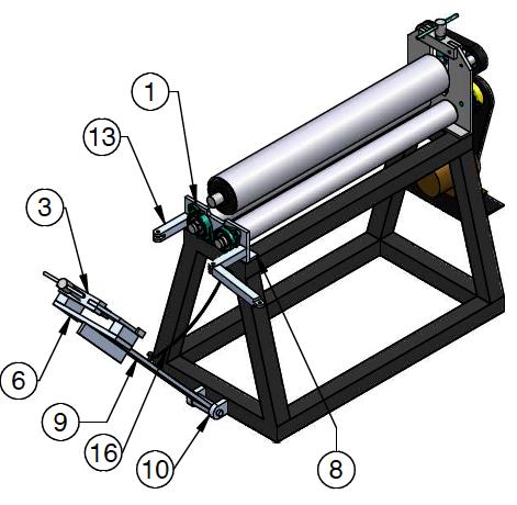 NEW 48″ Sheet Metal ROLLER – Sheet Metal Roller – Welding Plans