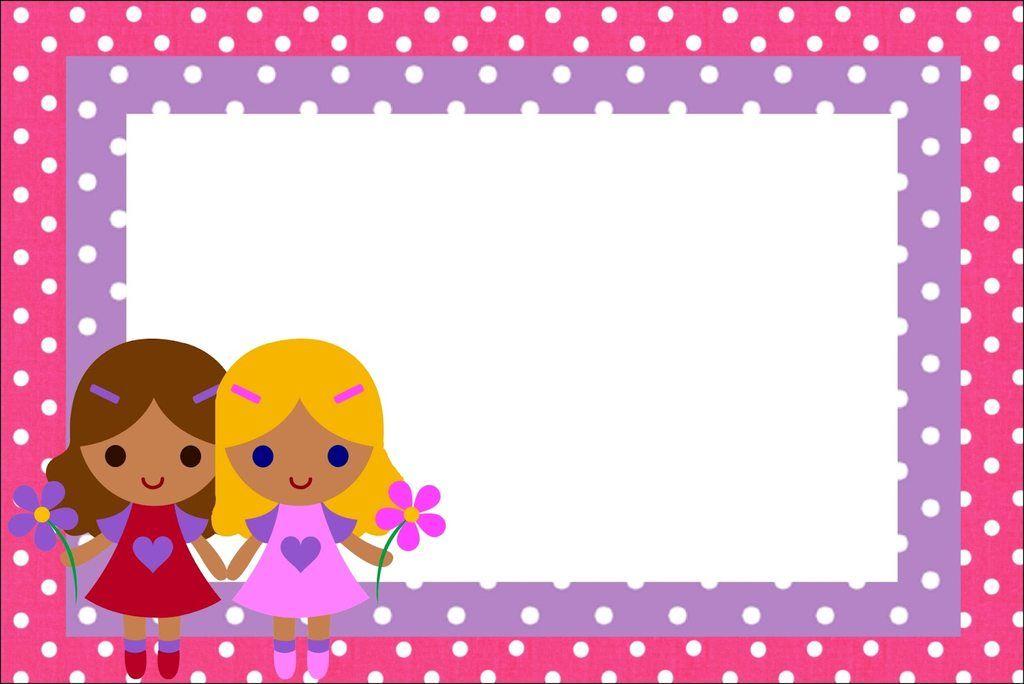 Imágenes y marcos de muñecas para niñas | Imágenes para Peques ...