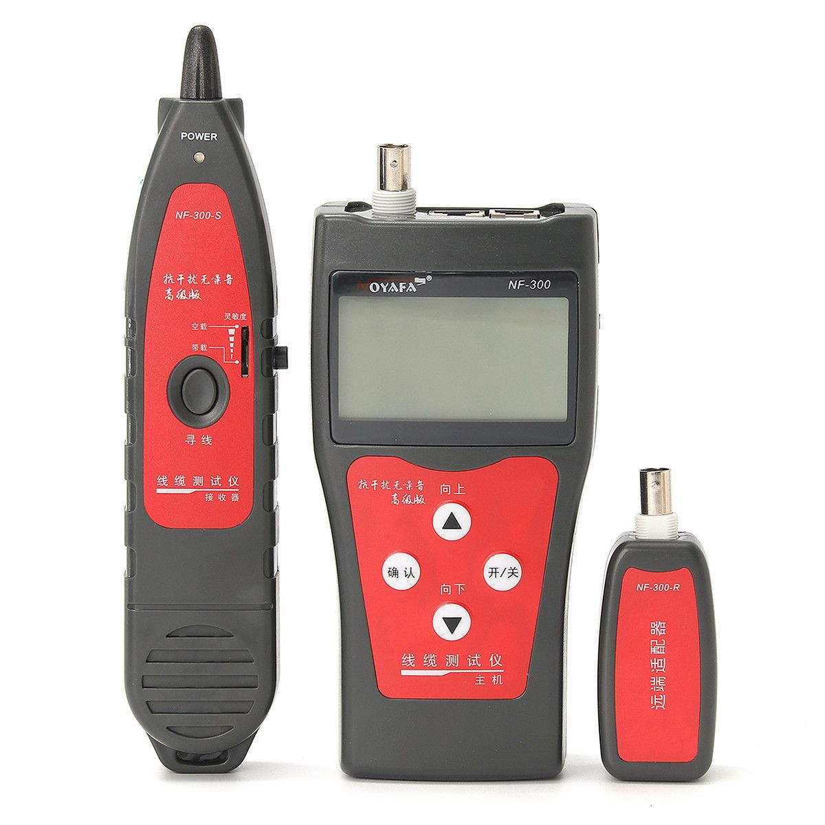 Professional Nf 300 Lan Network Cable Tester Telephone Wire Tracker For Utp Stp Rj45 Rj11 Diagnose Tone Trace