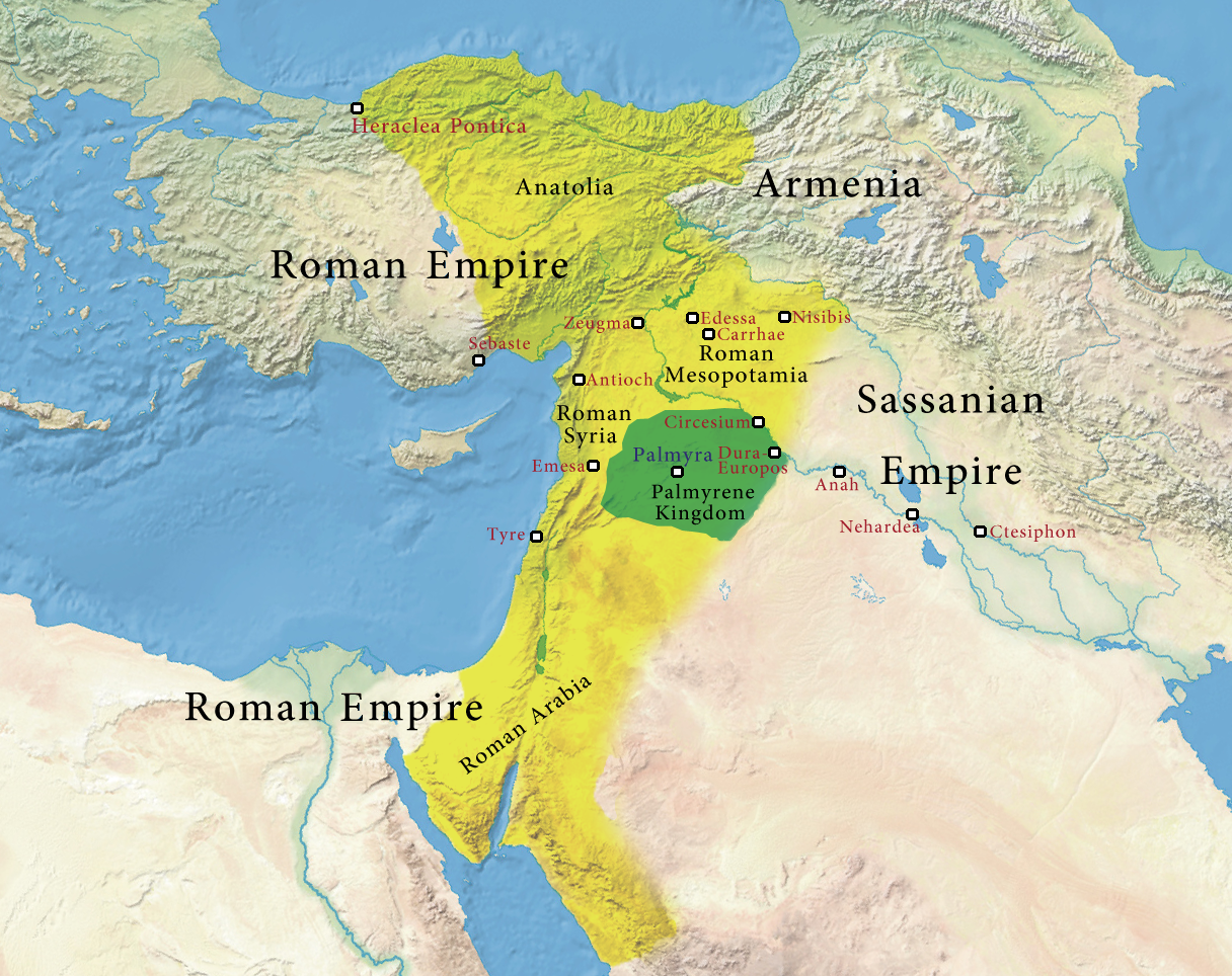 Ancient Middle East Map Mesopotamia%0A Colorcoded map of the ancient Near East