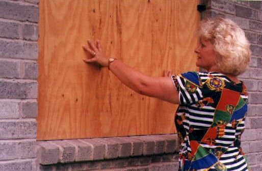 Easy Way To Install Plywood Over Windows For Brick Houses No Nails Plylox Hurricane Window Clips 35 Per Hurricane Window Clips Window Clips Broken Window