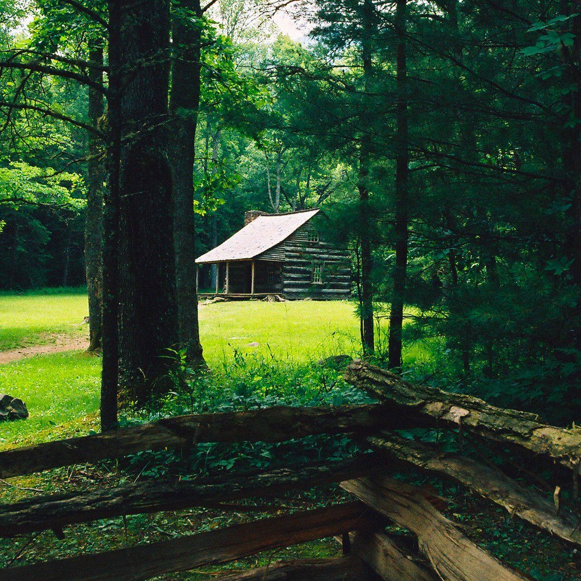 Let's go and explore the cabins in Cades Cove! #letsgo