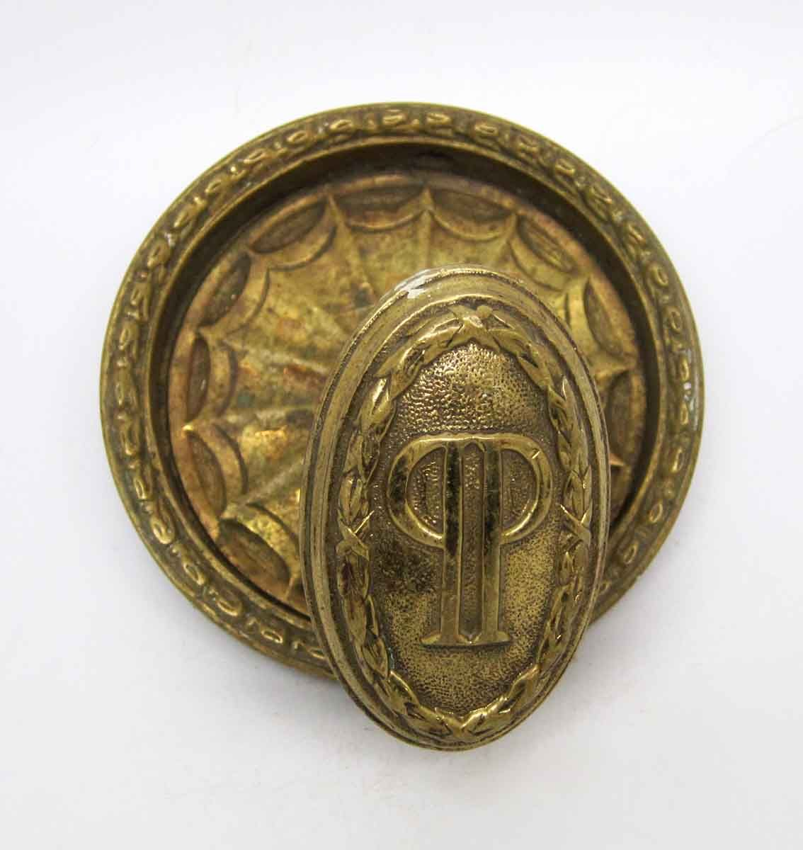 Antique door knobs on new doors - Ornate Brass Knob From New York Plaza Hotel Antique Door Knobsantique Doorsplaza