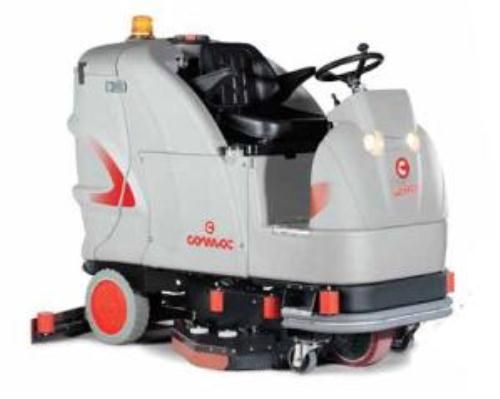 Comac Ultra 85 Is The Compact And Innovative Scrubbing
