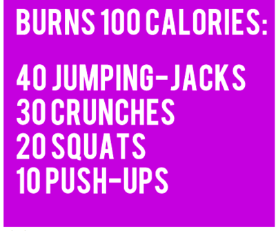 No time to work out today? Do this a couple times...it takes less than 5 mins