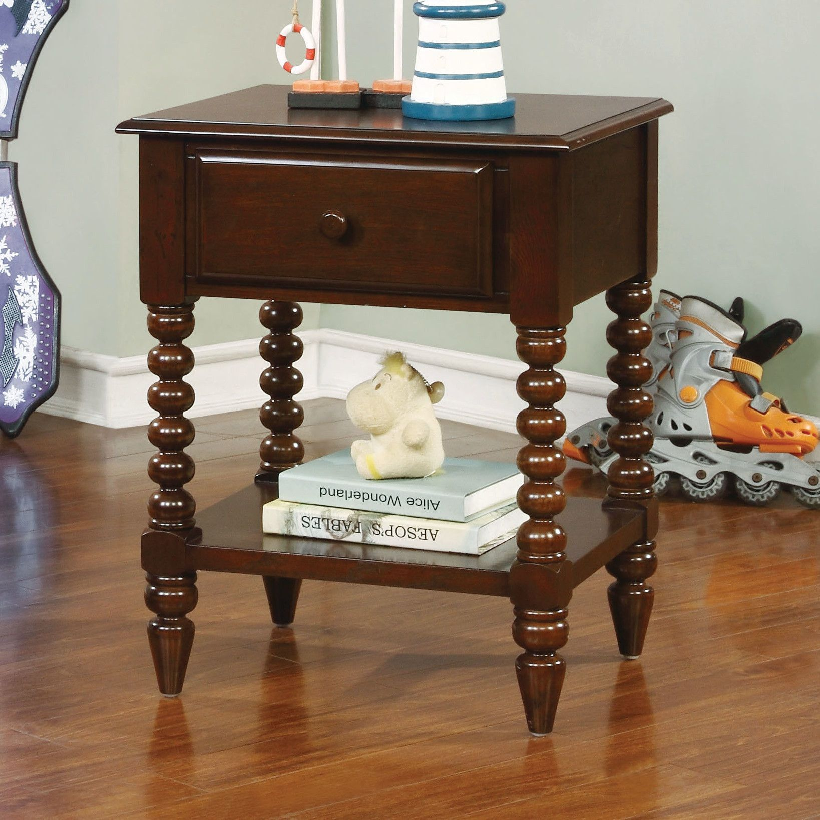 Abby 1 Drawer Nightstand