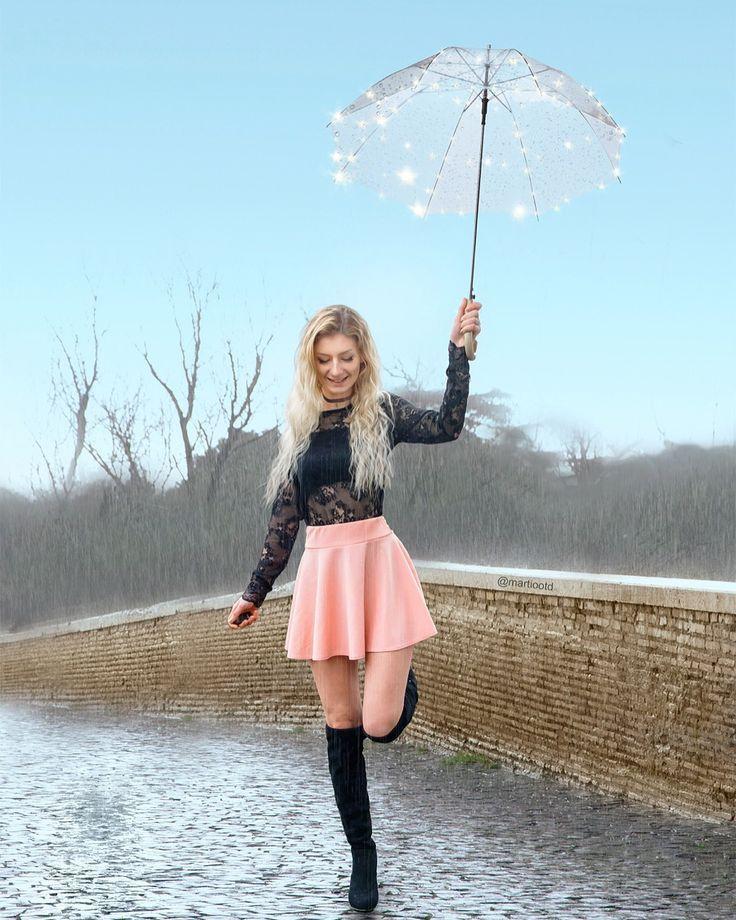 фотосеты позы с зонтом множество интересных