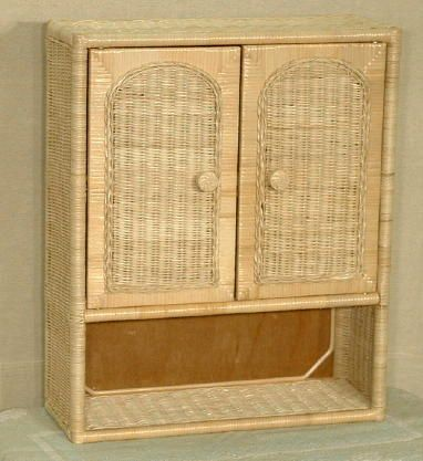Two Door Bathroom Wall Cabinet
