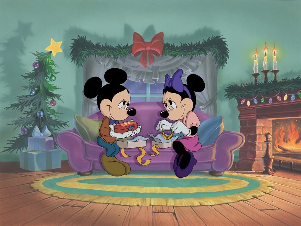 Mickey Minnie Disney christmas movies, Christmas
