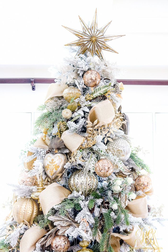 12 Stunning Christmas Tree Theme Ideas. Gold Christmas TreeChristmas  StoreChristmas ...