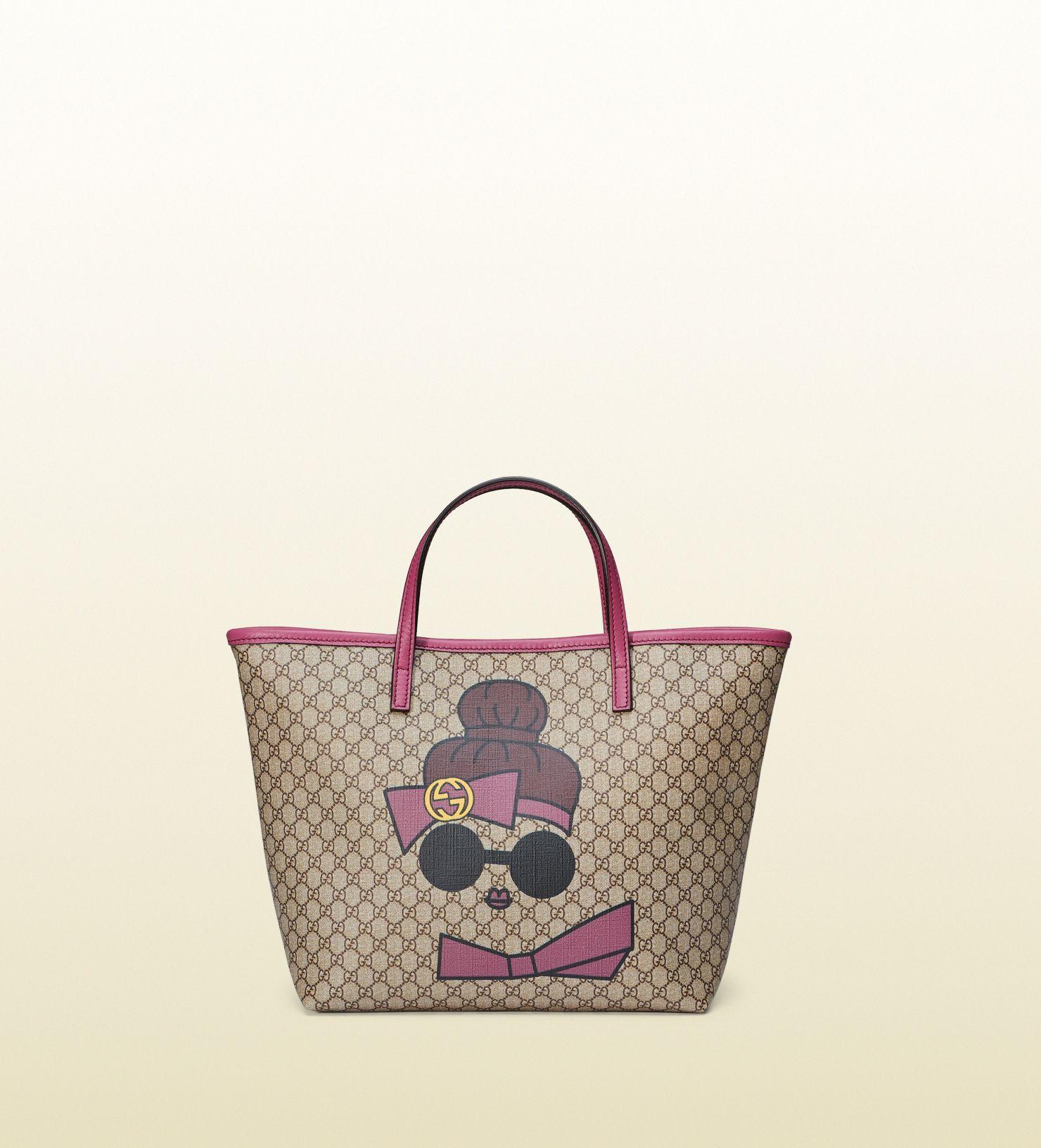 87747c77e1bc Children's GG fawns tote | #Kid Smart!! | Gucci kids, Gucci gifts, Gucci