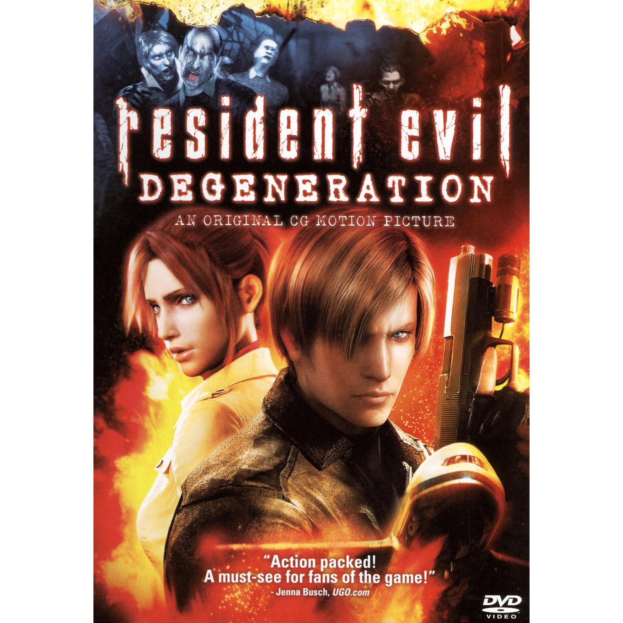Resident Evil Degeneration in 2020 Resident evil